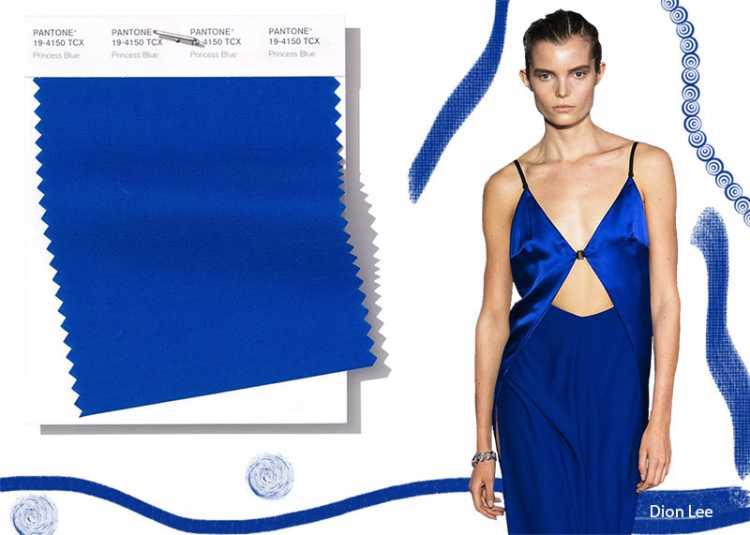 Princess Blue é uma das cores que são tendências da Pantone 2019