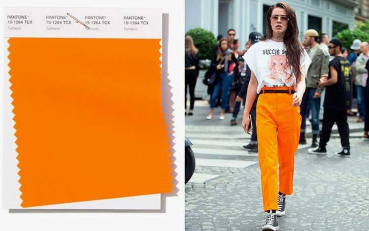 Turmeric é uma das cores que são tendências da Pantone 2019