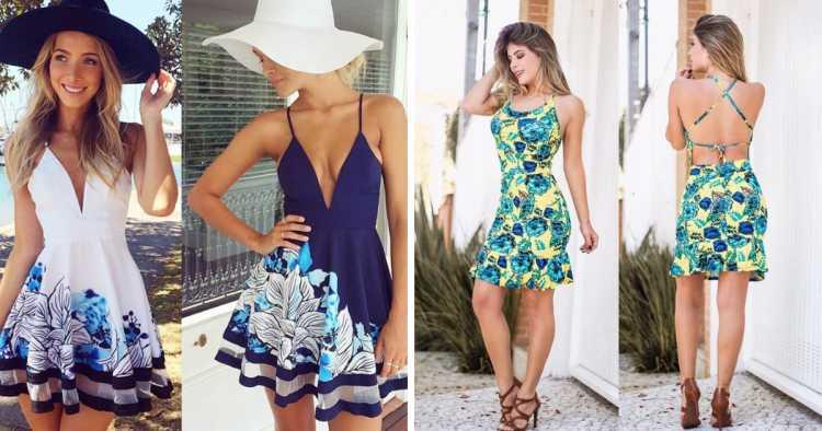 Vestido de alcinha é um dos modelos de vestidos para apostar no verão 2019