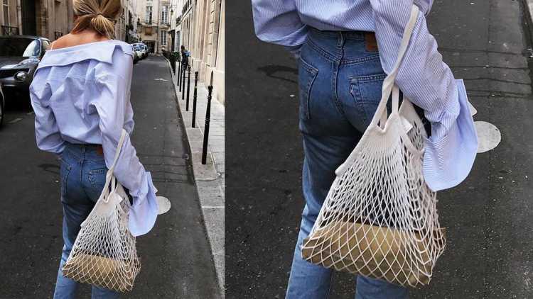 net bags é uma das bolsas do verão 2019