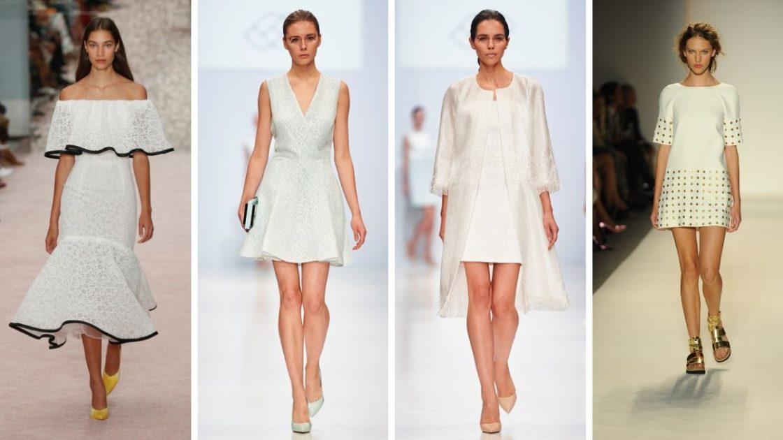 Vestido branco combina com o Natal