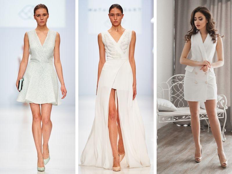 Dicas para passar o ano novo de branco com vestido envelope