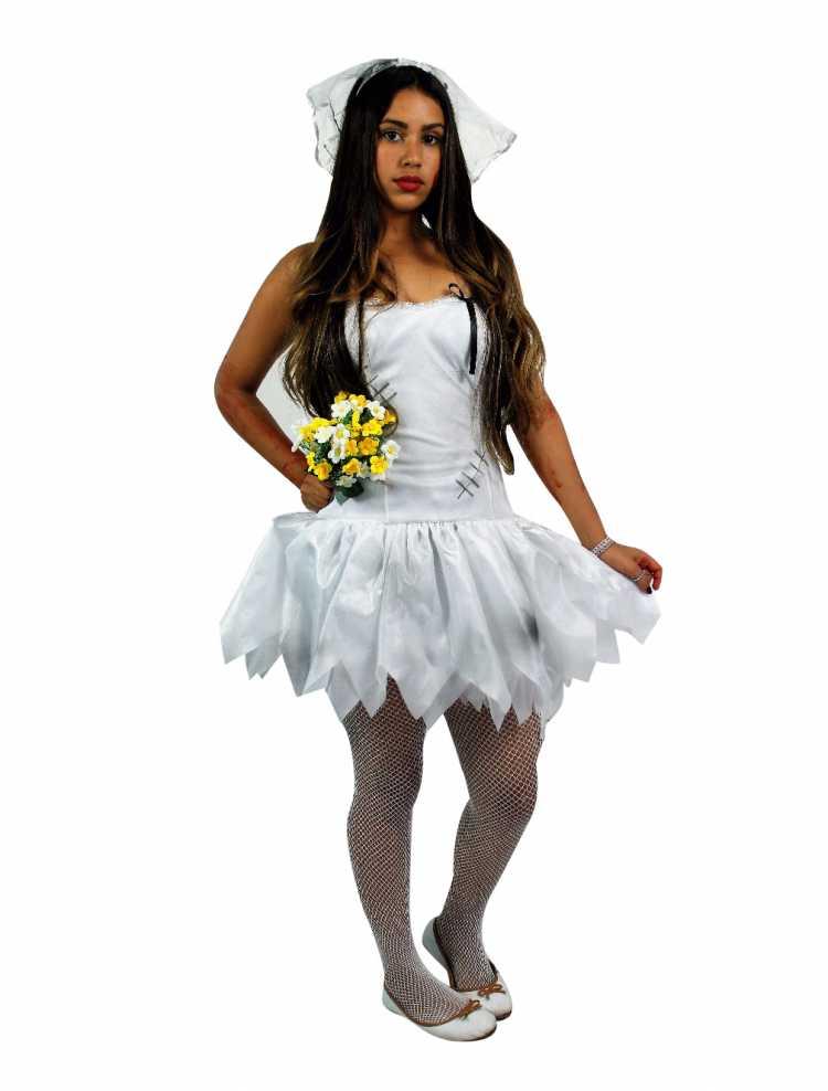 Fantasiar de noiva é uma das opções de fantasias de carnaval 2019