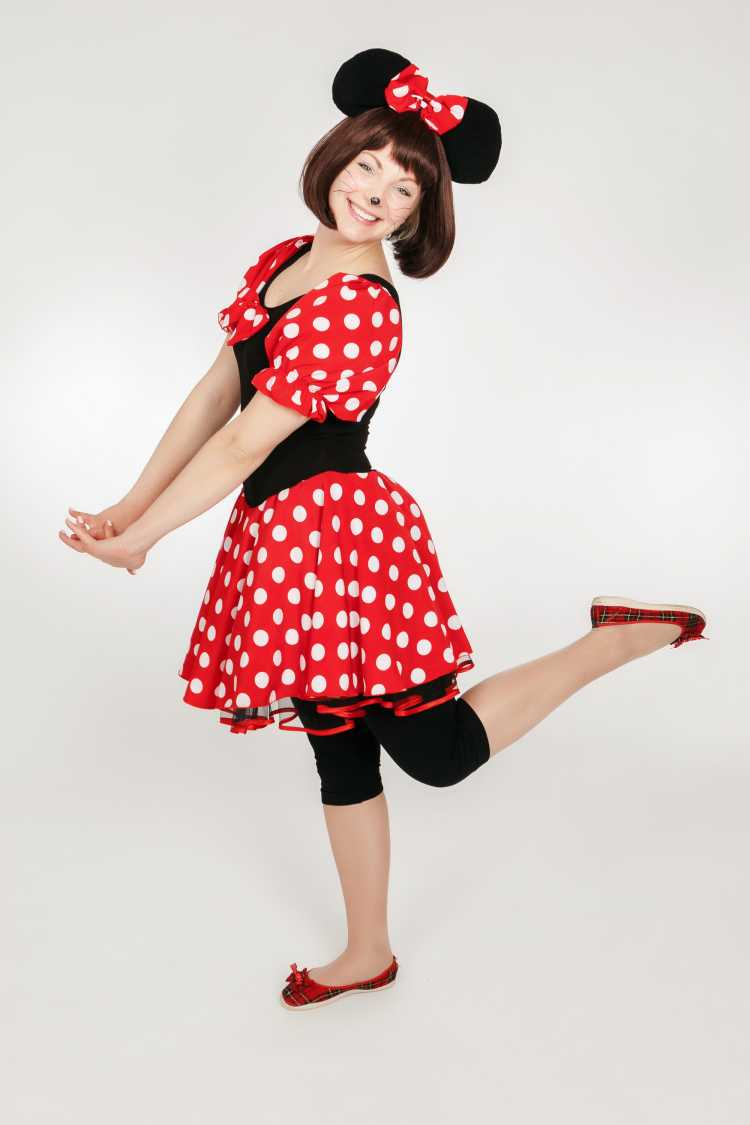 Minnie Mouse fantasia de carnaval