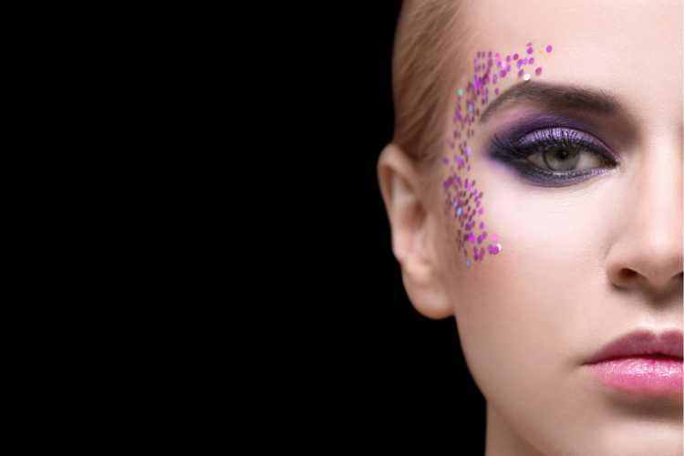 Sombra lavanda é uma das tendências para maquiagem de carnaval em 2019