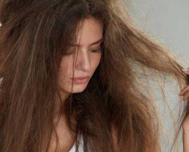 Tratamento caseiro para cabelo poroso