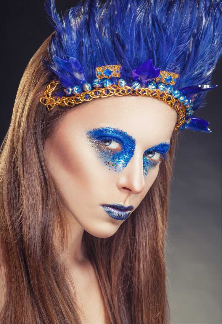 fantasia de carnaval Índia