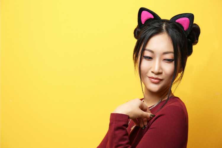 Tiara de gatinho é um dos acessórios de cabelo para carnaval