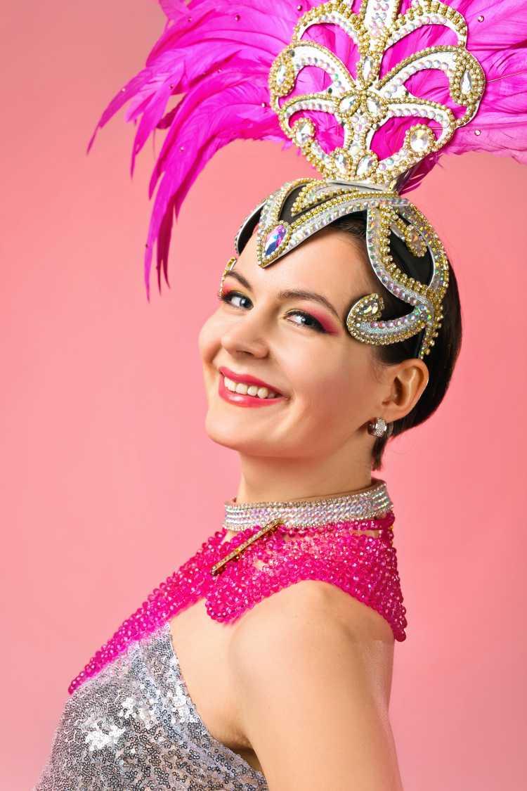 adereço de passista é um dos acessórios de cabelo para carnaval