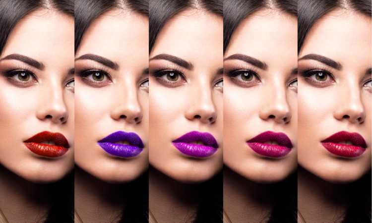 batom é um dos truques para a maquiagem perfeita de Carnaval