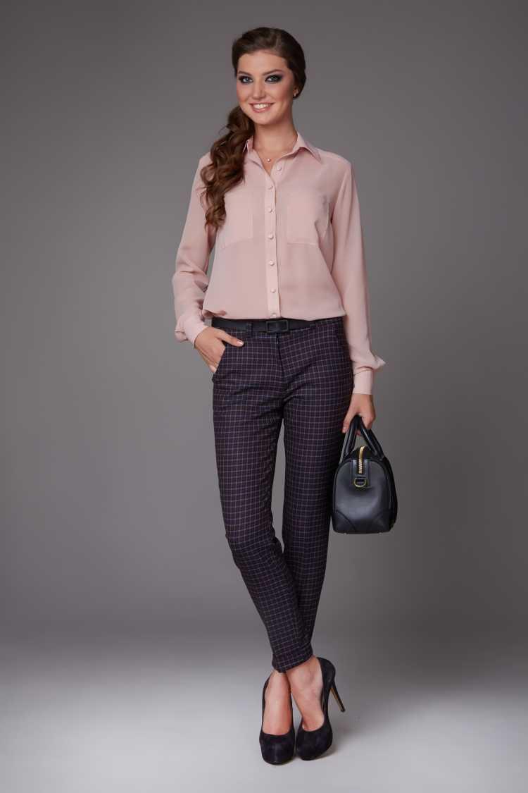 camisa Social Feminina rosé