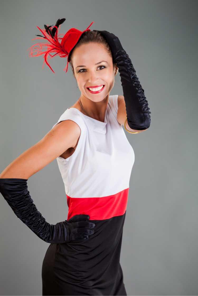 mini cartola é um dos acessórios de cabelo para carnaval