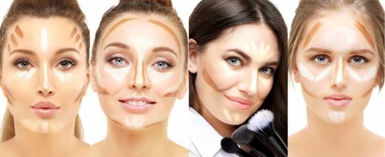 Maquiagem para sessão de fotos contorno para cada tipo de rosto