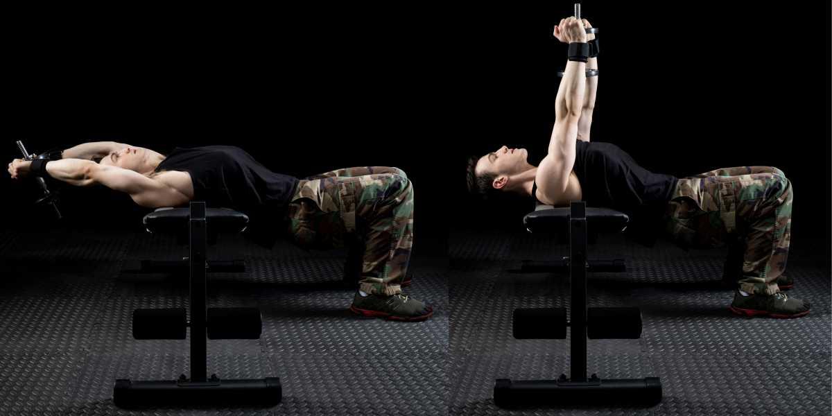 Pullover é um dos melhores exercícios para fortalecer braços flácidos