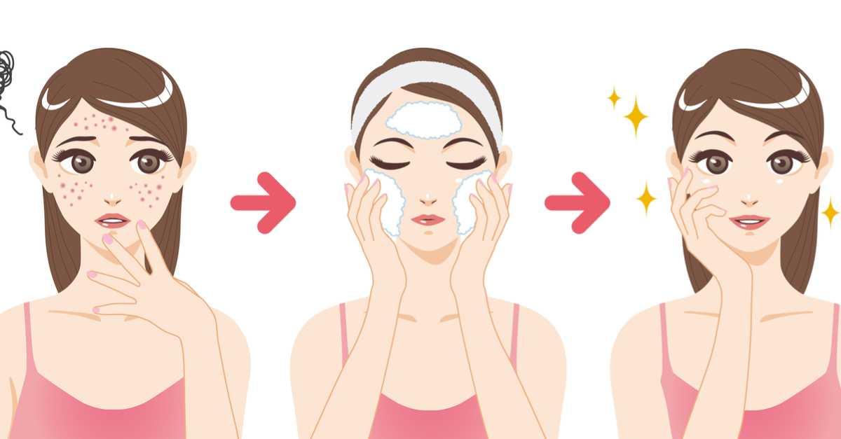 Limpeza de pele caseira