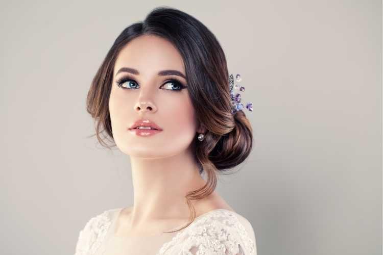 Maquiagem para noiva branquinha