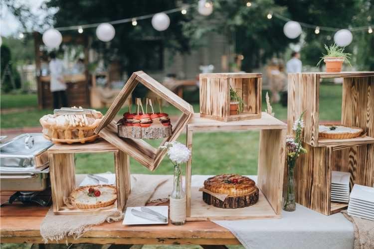 buffet de casamento criativo