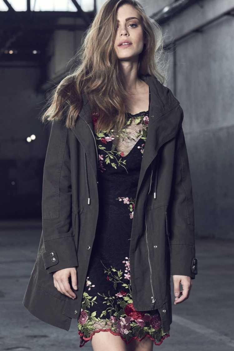 casaco estilo sobretudo