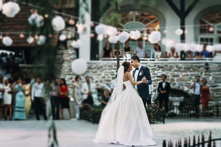 dança tradicional dos noivos