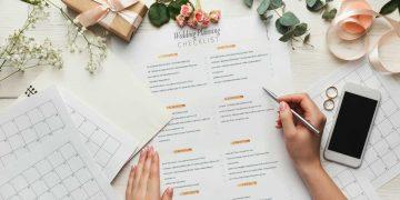 planejar a festa de casamento