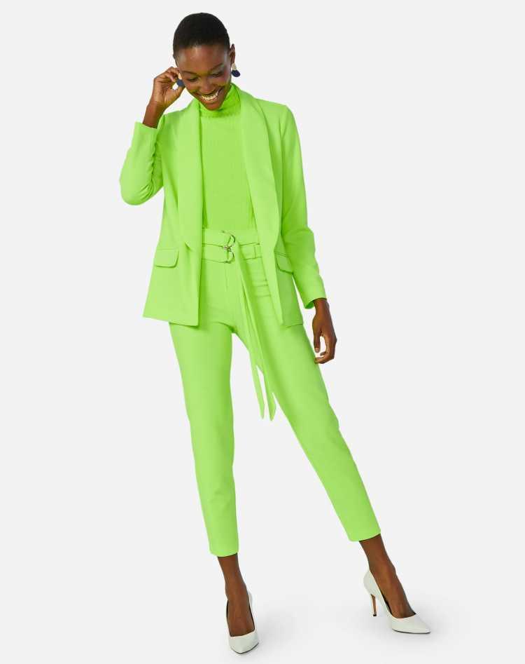 verde limão é tendência da moda inverno 2019