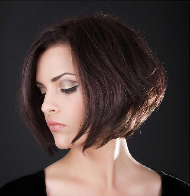 corte de cabelo bob com volume