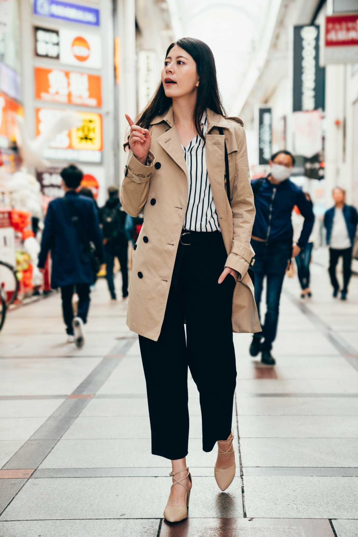 pantacourt com casaco