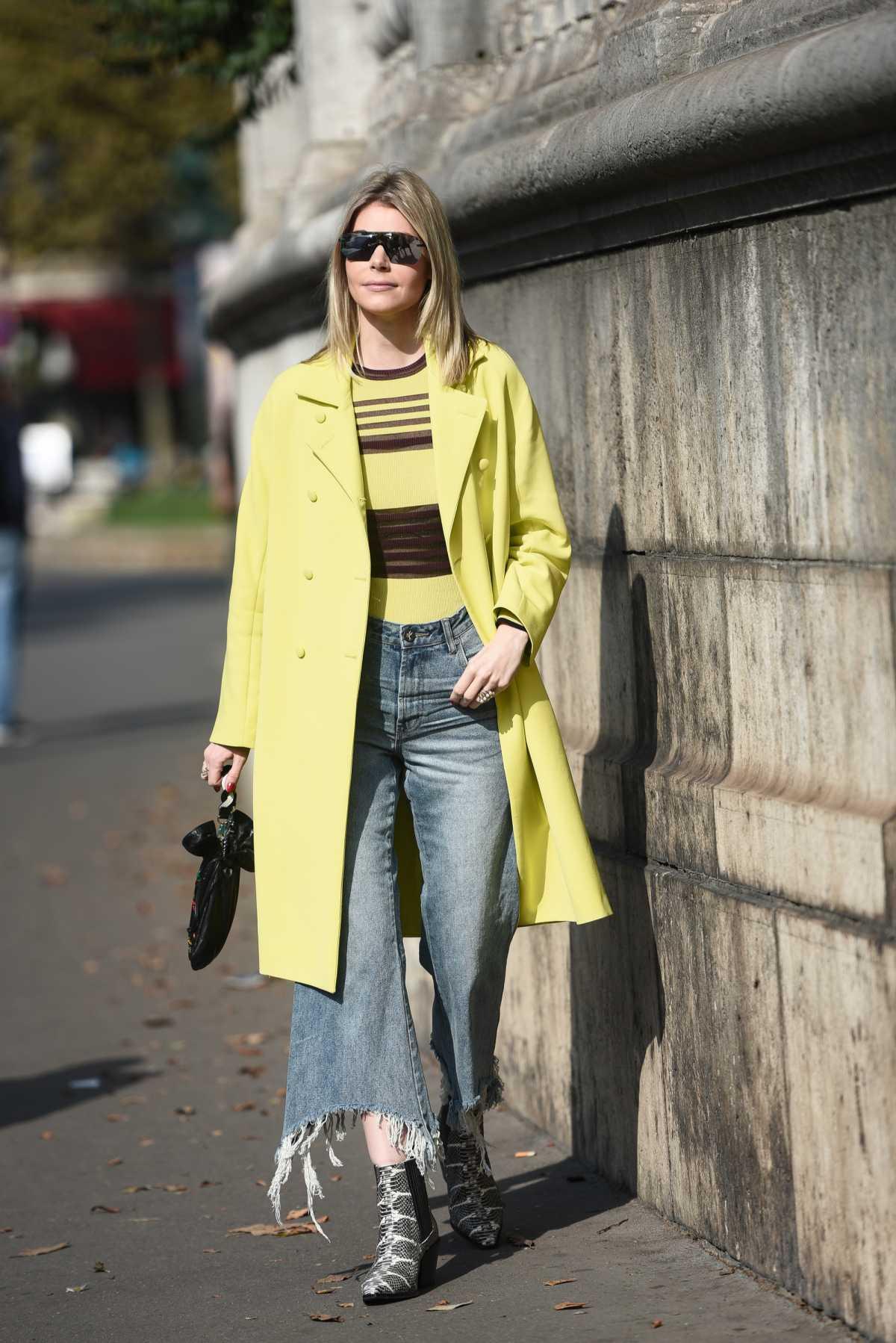 produção com pantacourt jeans para inverno