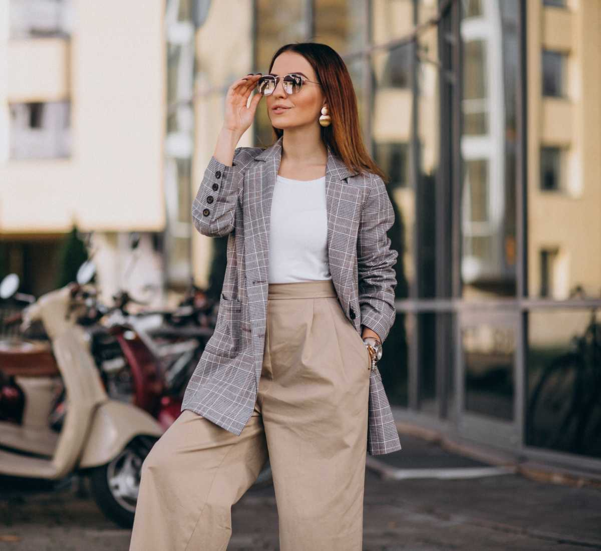 look com pantalona para trabalhar no inverno