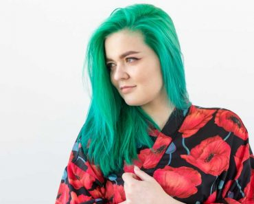 cabelo verde menta é tendência