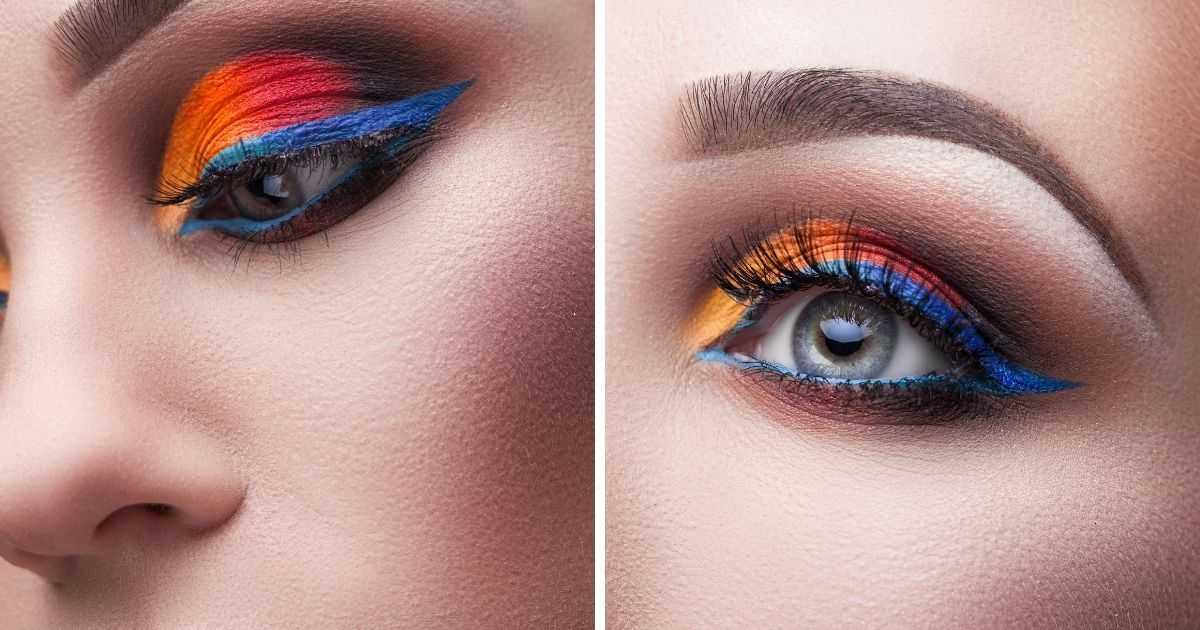 Make com cores vibrantes