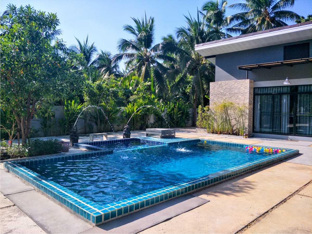 piscina para quintal pequeno