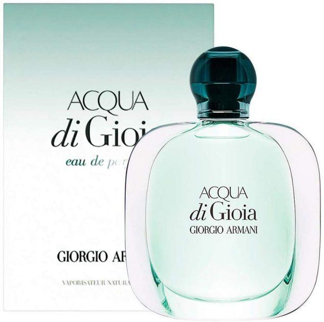 Acqua di Gioia de Giorgio Armani é um dos melhores perfumes femininos para usar no verão