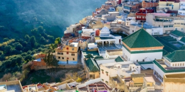 Vista de Moulay Idriss Zerhoun, Marrocos - Foto: ShutterStock