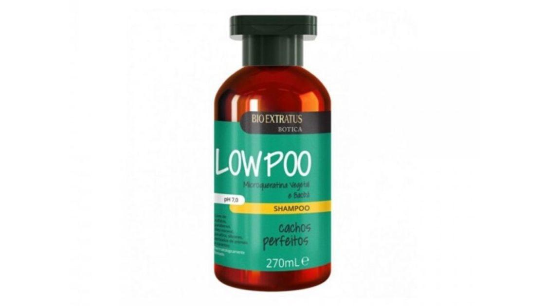 BIOEXTRATUS Botica Shampoo Low Poo Cachos Perfeitos