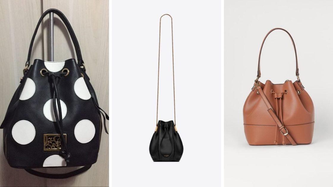 Bucket Bag é uma das tendências de bolsas verão 2020 /2021