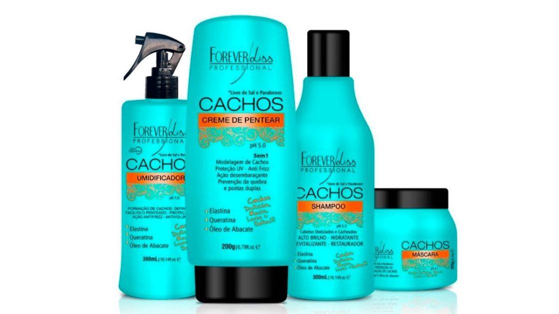 Melhor linha profissional de shampoos para cabelos cacheados