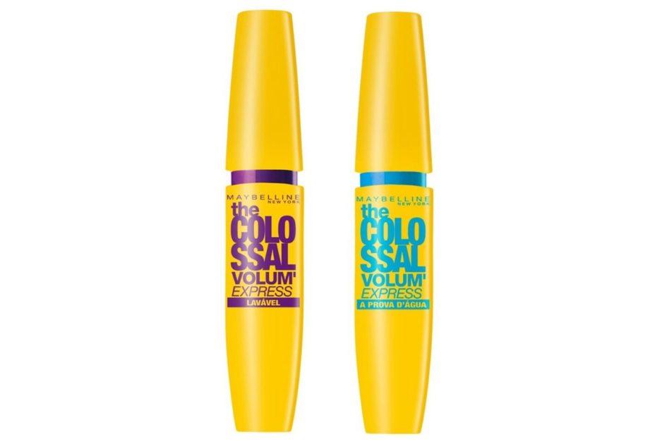 """Rímel """"The Colossal"""" da Maybelline é um dos produtos de maquiagem recomendados por especialistas"""