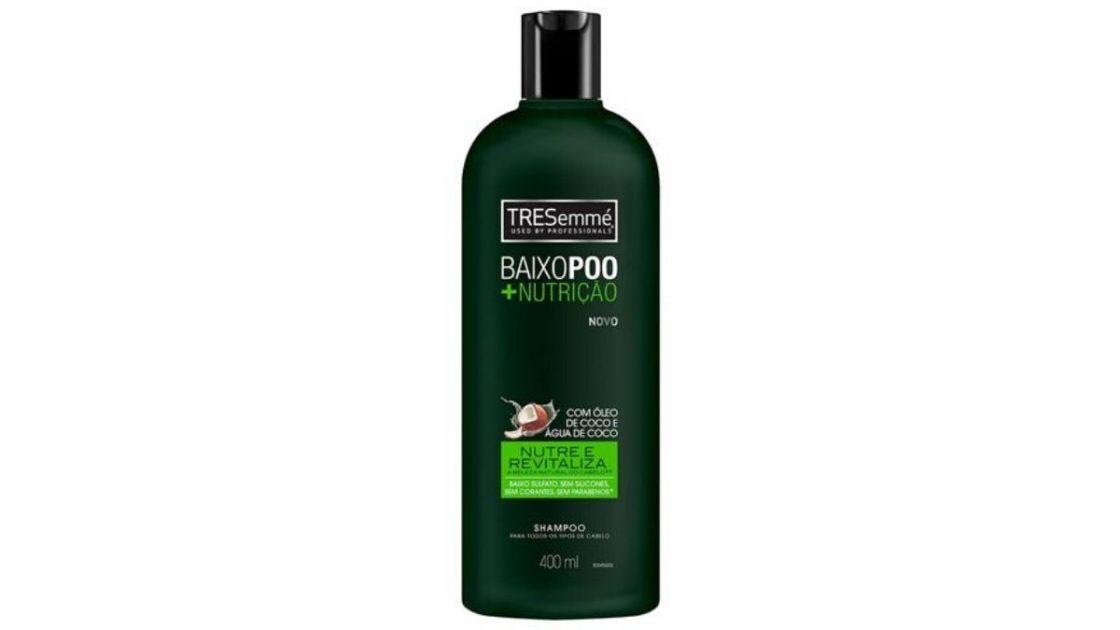 TRESEMMÉ Shampoo Baixo Poo + Nutrição
