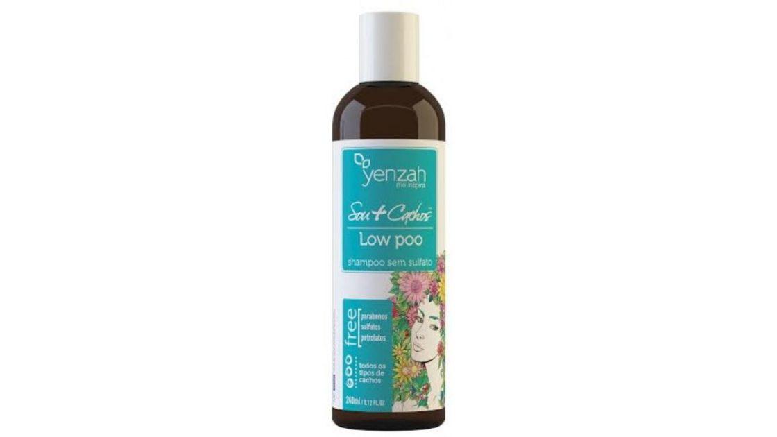 YENZAH Shampoo Sou + Cachos é o Melhor shampoo para nutrir e restaurar cabelos cacheados
