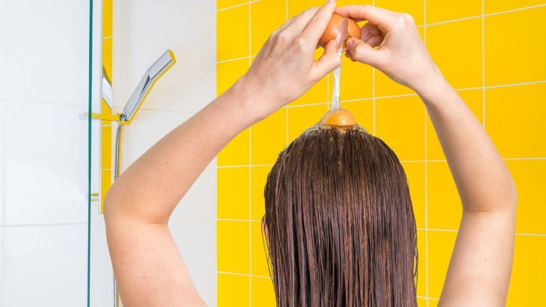 Benefícios do ovo para o cabelo - Foto: Canva