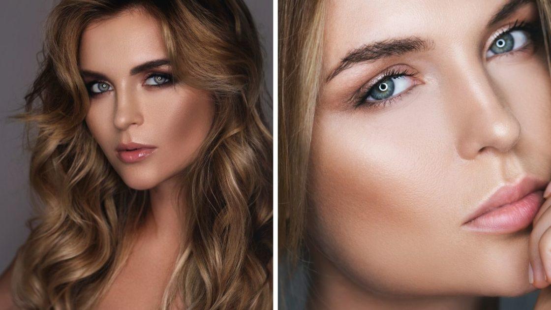 Pele natural e bronzeada é uma das tendências de maquiagem outono inverno 2020 - [Fotos: shutterstock]