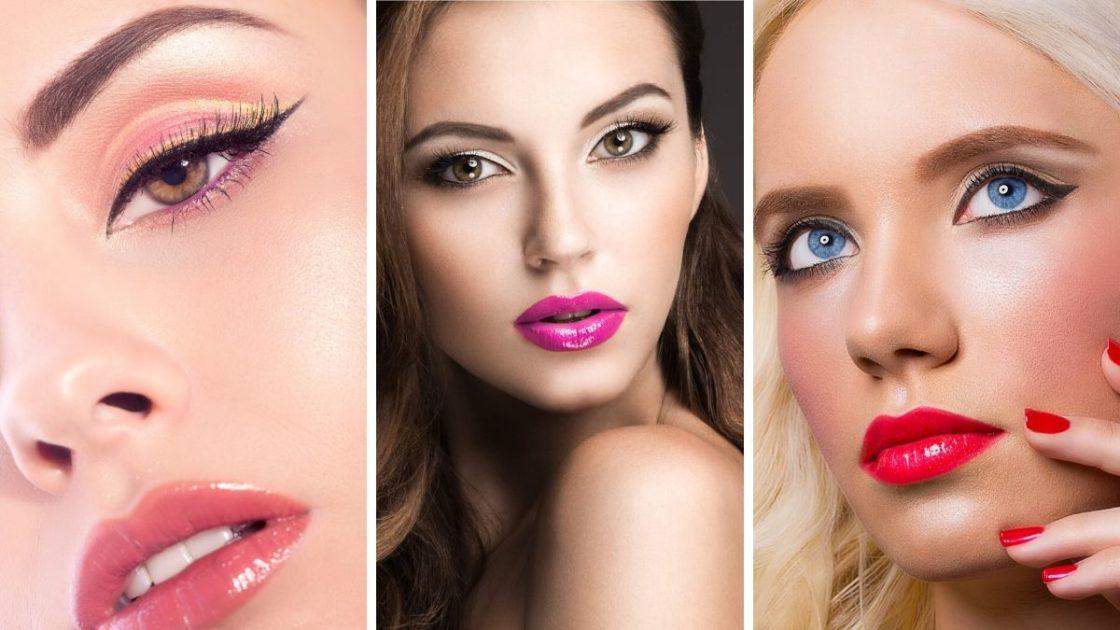 Brilho nos lábios (gloss labial) - [Fotos: shutterstock]