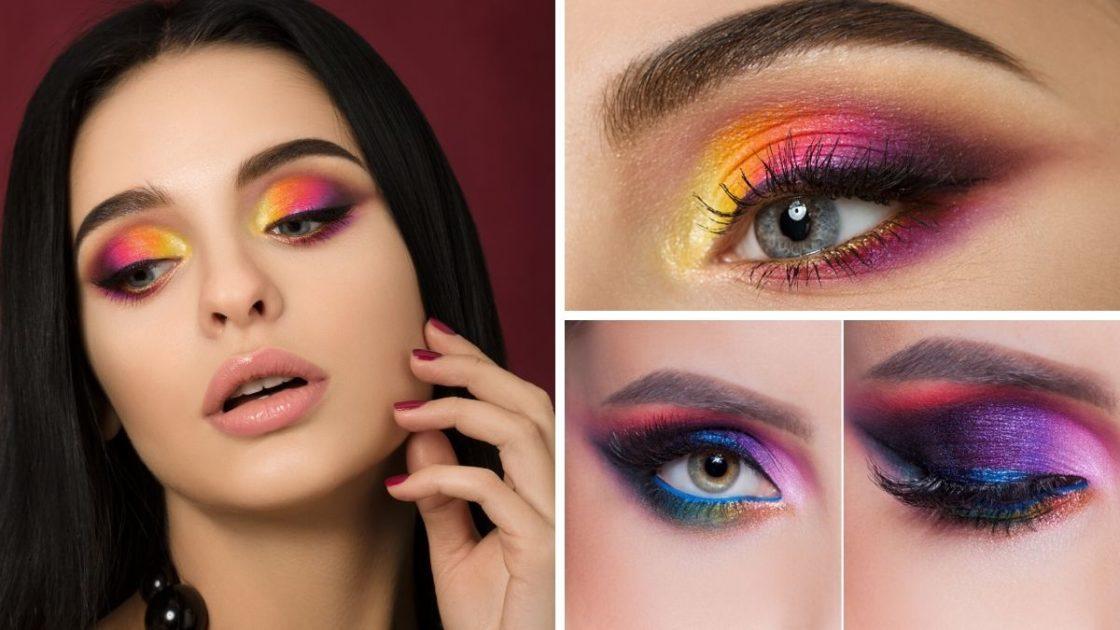 Sombra colorida, estilo arco-íris - [Fotos: shutterstock]