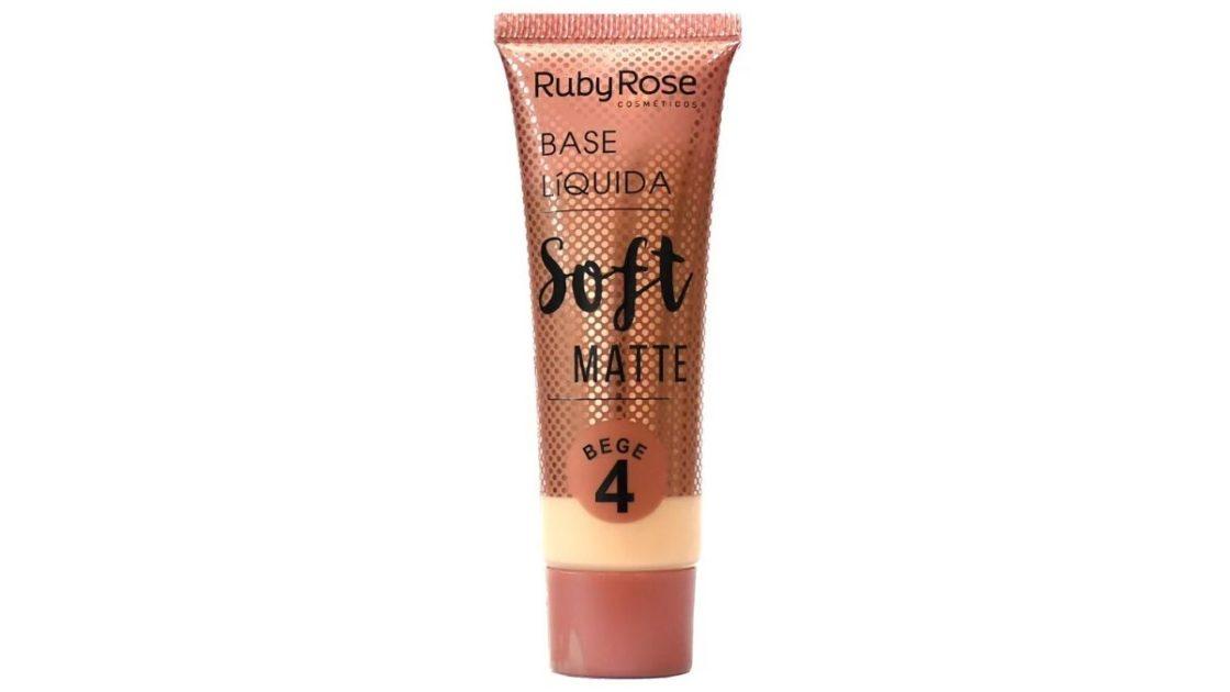 Base Soft Ruby Rose é uma das melhores bases líquidas do mercado