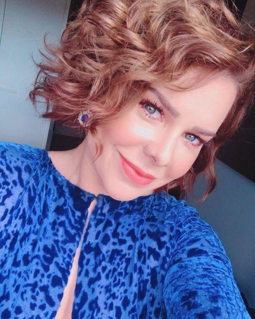 Fernanda Souza com cabelo curto