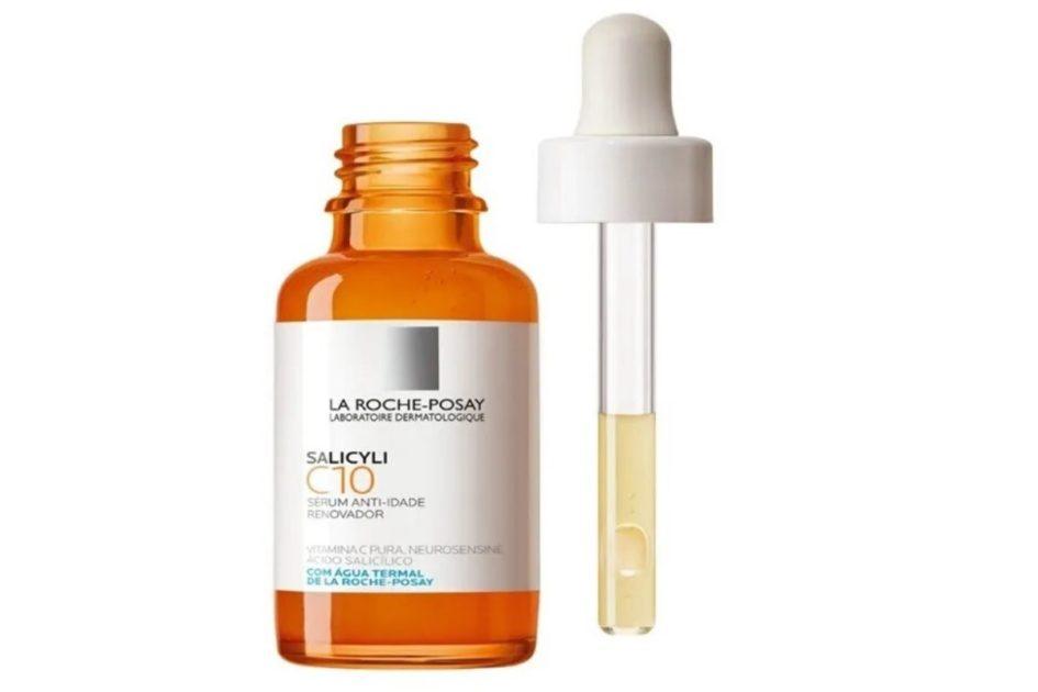 Sérum Anti-idade Salicyli C10 da La Roche-Posay é um dos melhores séruns de Vitamina C para o rosto