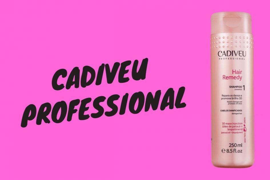 Cadiveu Professional é um dos Melhores Shampoos para Cabelos Loiros