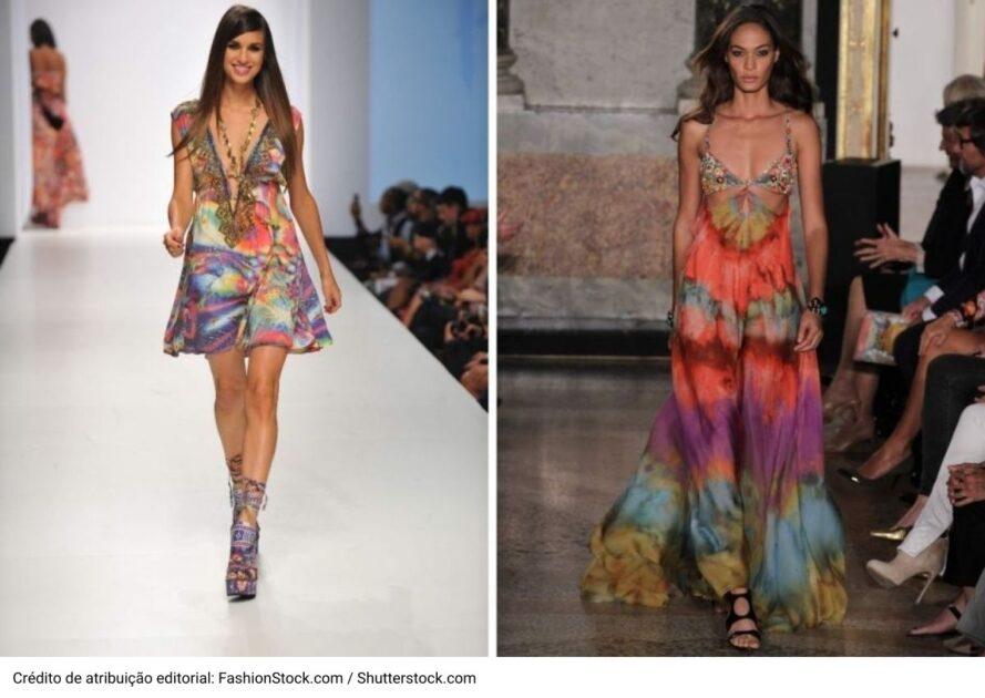 Estampa tie dye é uma das trends da moda verão 2021