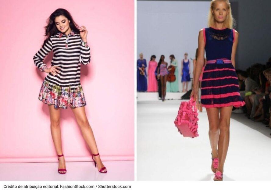 Listras está entre as tendências da moda verão